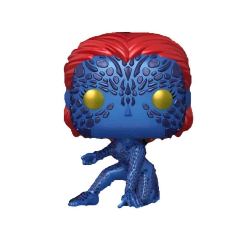X-Men 20th Anniversary POP! Marvel Vinyl Figure Mystique Metallic Limited 9 cm