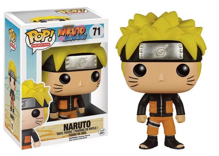 Naruto Shippunden Pop! Anime: Naruto - Naruto 9 cm