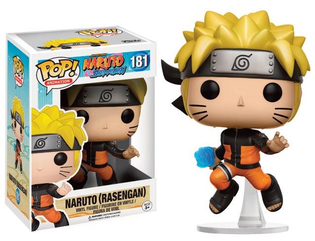 Naruto Shippuden POP! Animation Vinyl Figure Naruto (Rasengan) 9 cm