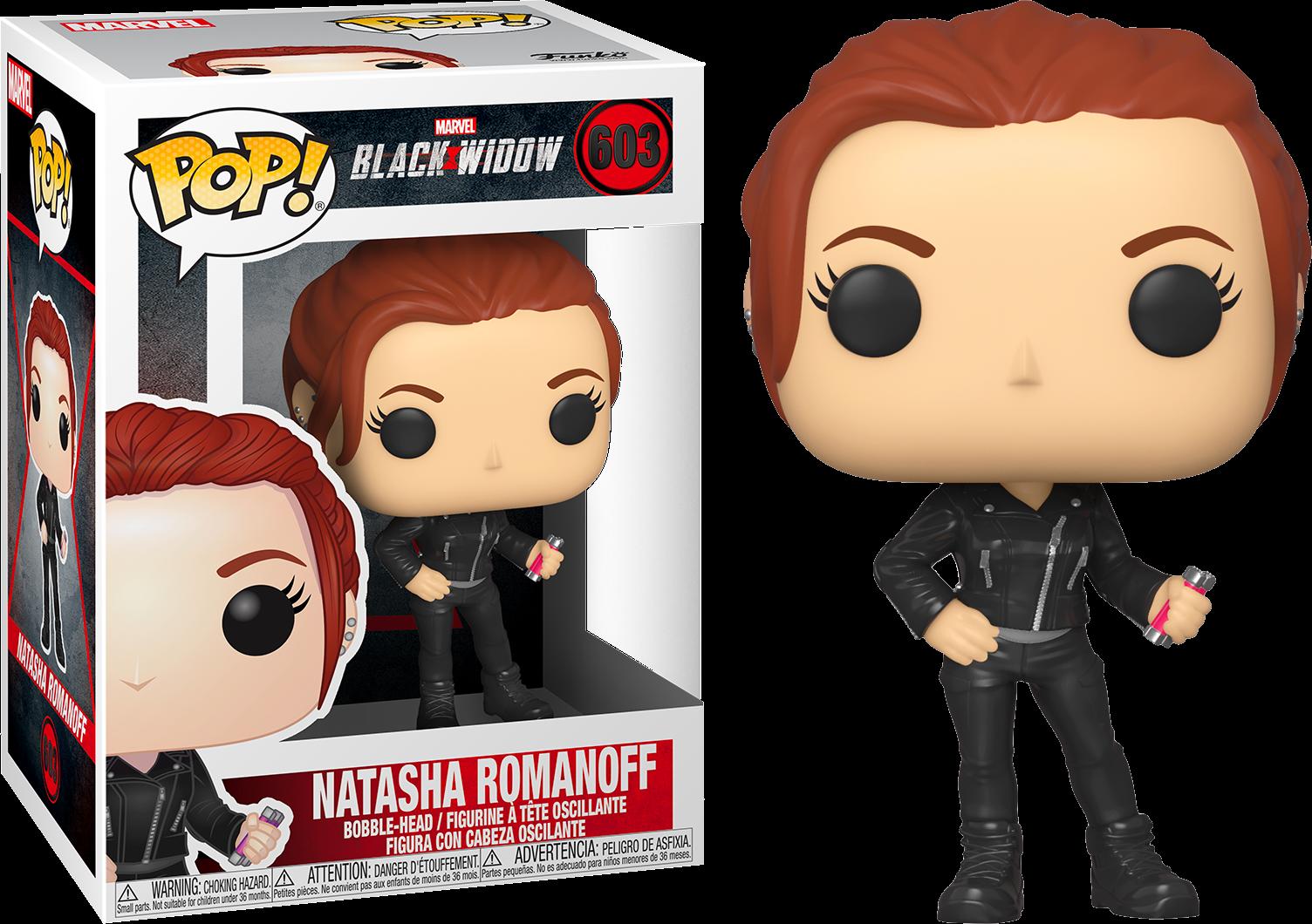 Black Widow POP! Marvel Vinyl Figure Natasha Romanoff 9 cm
