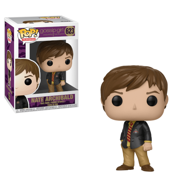 Gossip Girl POP! TV Vinyl Figure Nate Archibald 9 cm