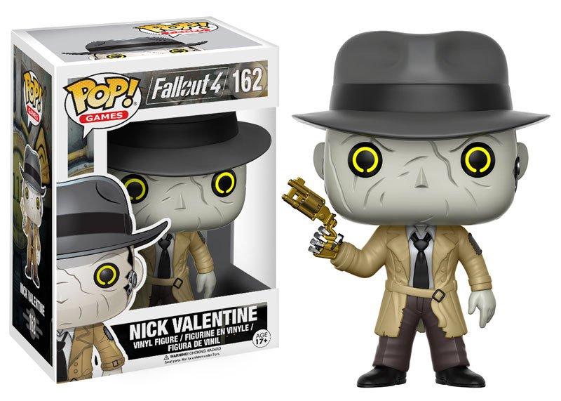 Fallout 4 POP! Games Vinyl Figure Nick Valentine 9 cm