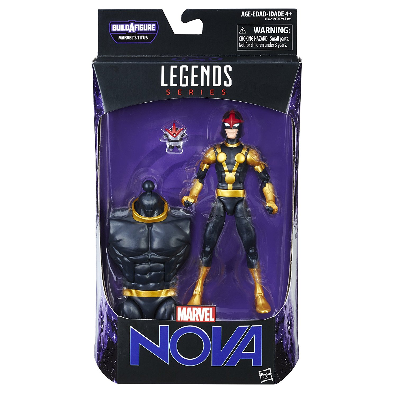 Guardians of the Galaxy Marvel Legends Action Figures 15 cm Marvel's Kid Nova Wave 1