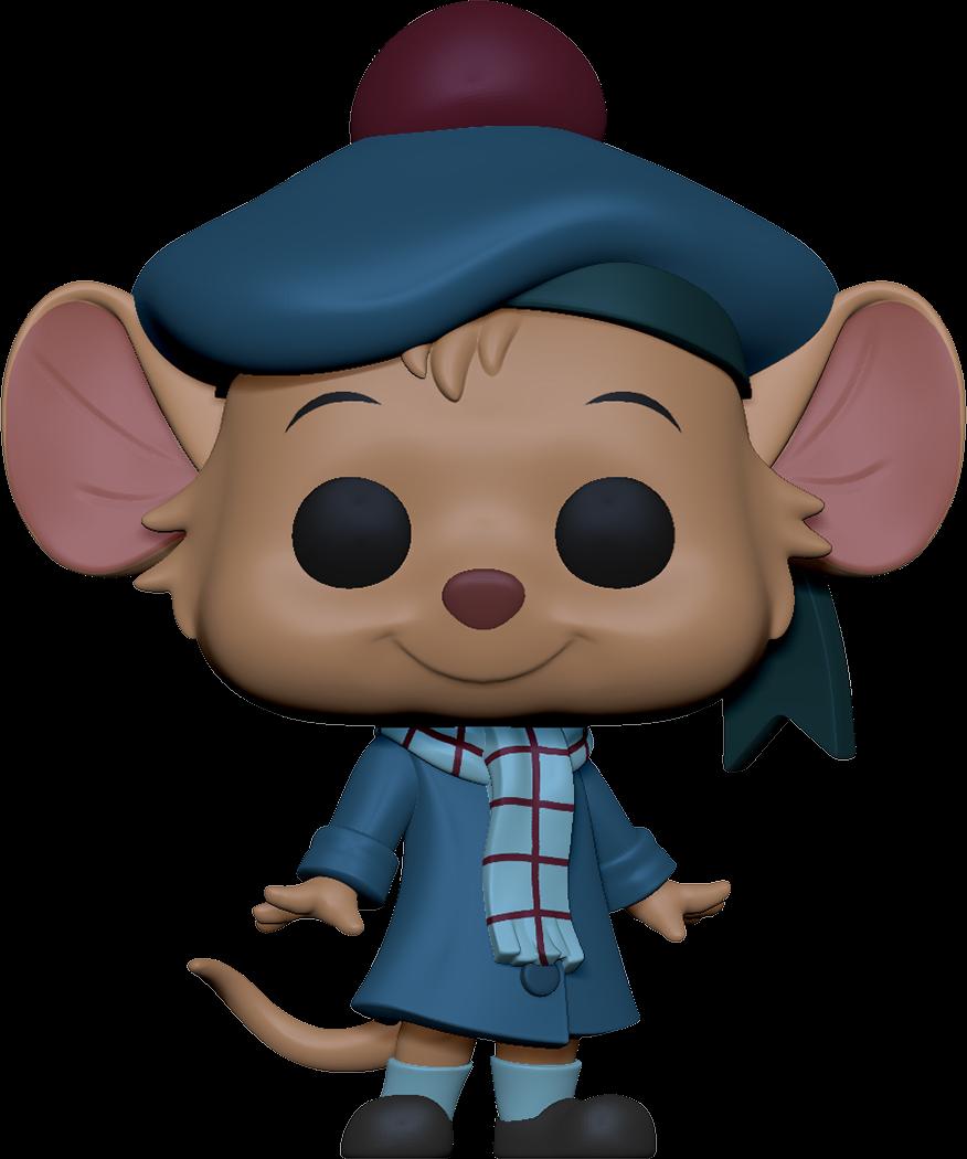 The Great Mouse Detective POP! Disney Vinyl Figure Olivia 9 cm