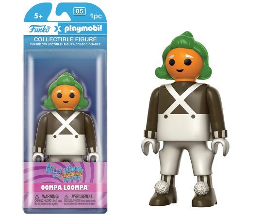 Willy Wonka & the Chocolate Factory Funko x Playmobil Vinyl Figure Oompa Loompa 15 cm
