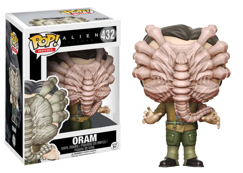 Alien Covenant Pop! Movies Vinyl Figure Oram with Facehugger Limited 9 cm