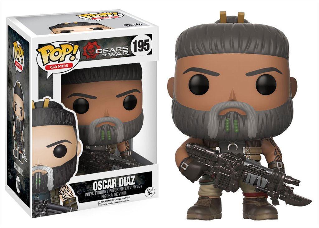 Gears of War POP! Games Vinyl Figure Oscar Diaz 9 cm