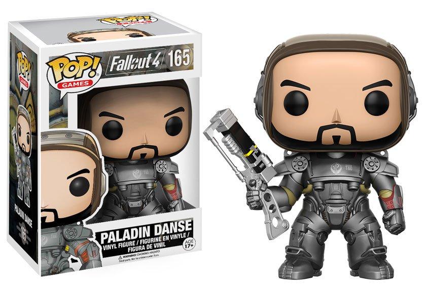Fallout 4 POP! Games Vinyl Figure Paladin Danse 9 cm