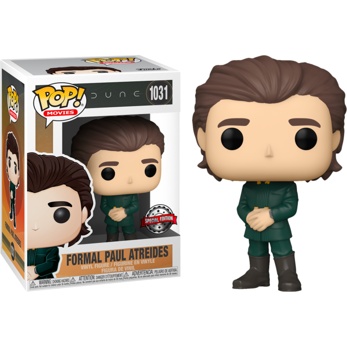 Dune POP! Movies Vinyl Figures Formal Paul Atreides Limited 9 cm