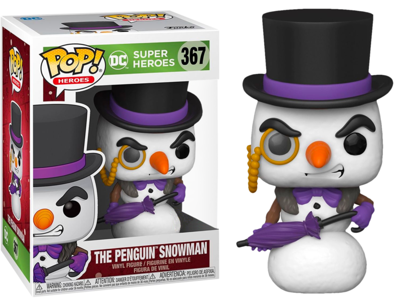 DC Comics POP! Heroes Vinyl Figure DC Holiday: Penguin as Snowman Limited 9 cm
