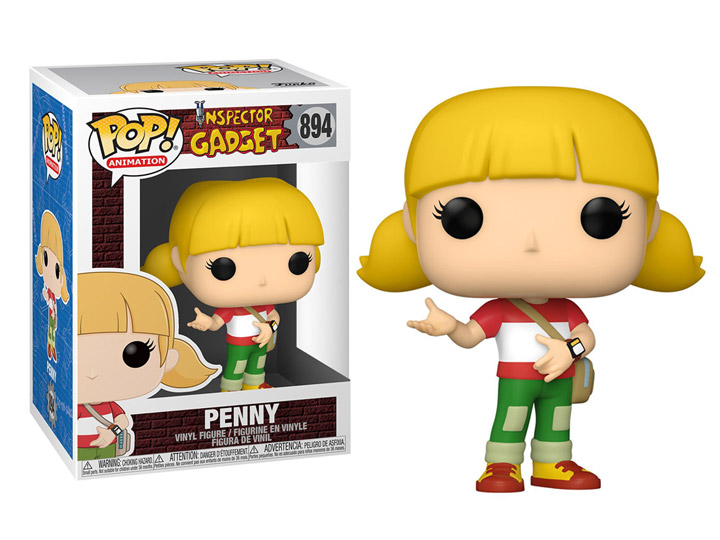 Inspector Gadget POP! Animation Vinyl Figure Penny 9 cm