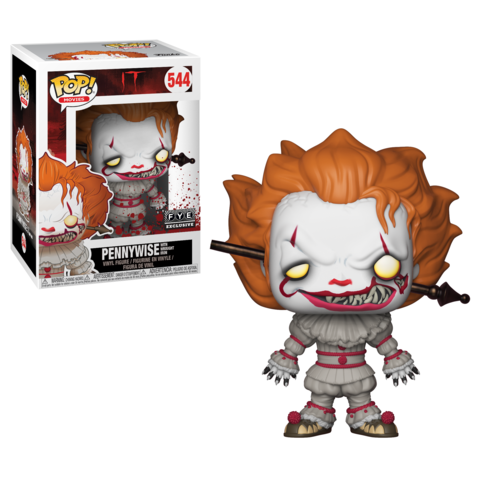 It POP! Movies Vinyl Figure Pennywise with Wrought Iron Limited 9 cm