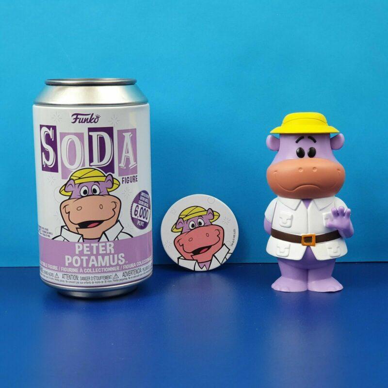 Hanna Barbera POP! Movies Vinyl SODA Figures Peter Potamus 11 cm