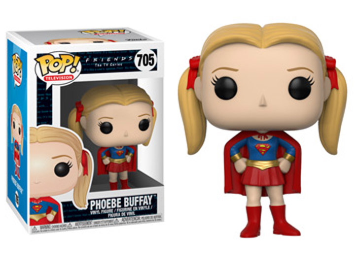 Friends POP! TV Vinyl Figure Phoebe as Supergirl 9 cm