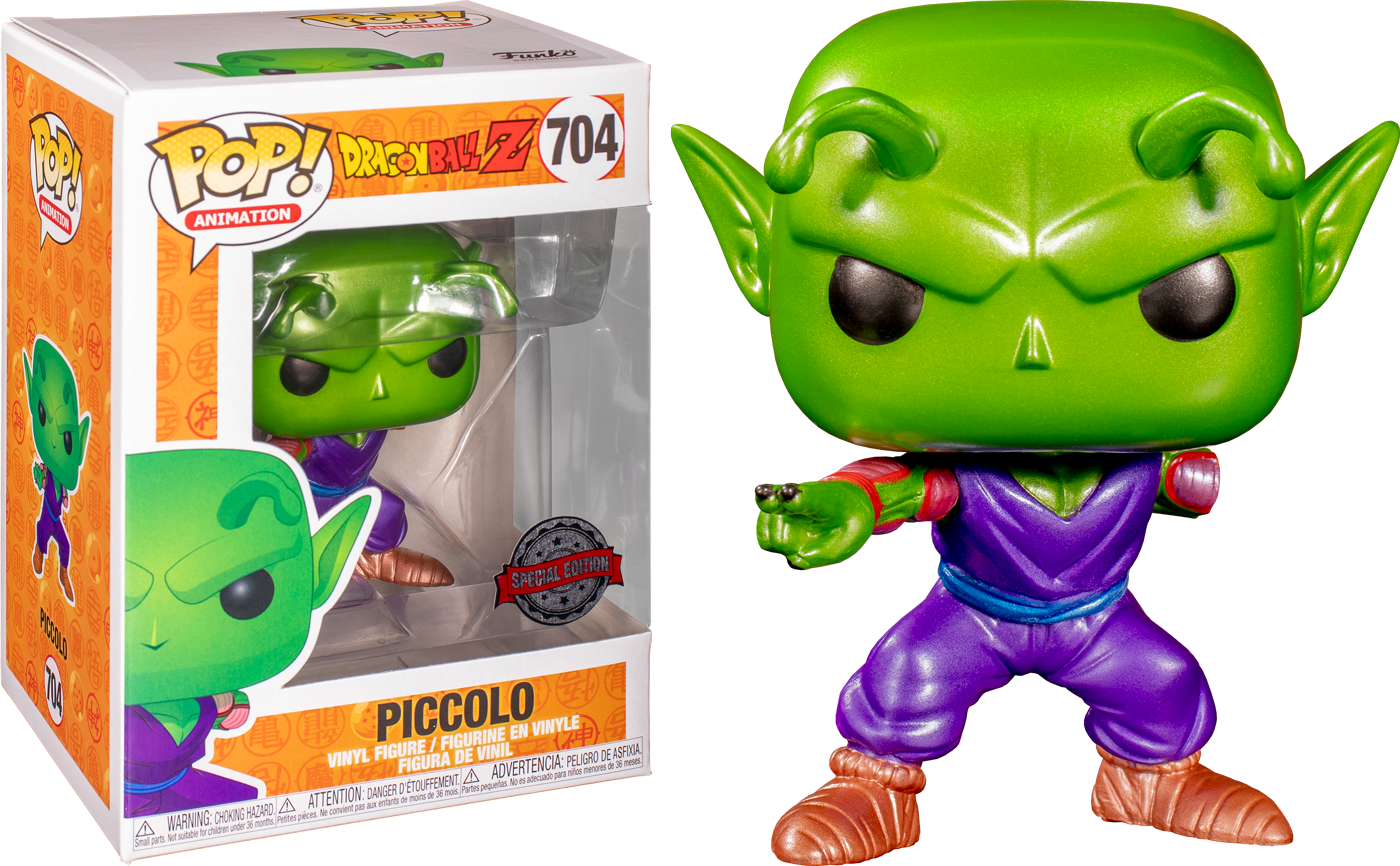 Dragon Ball Z! Vinyl Figure Piccolo With Missing Arm Metallic Limited 9 cm