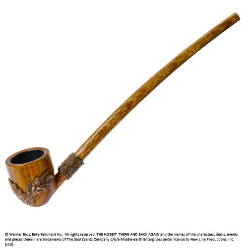 The Hobbit An Unexpected Journey Replica 1/1 The Pipe of Bilbo Baggins 23 cm