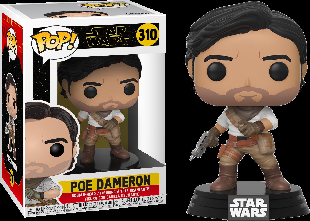 Star Wars Episode IX POP! Movies Vinyl Figure Poe Dameron 9 cm