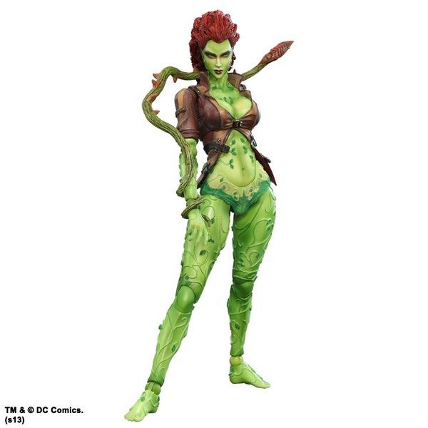 Batman Arkham City Play Arts Kai Action Figure Poison Ivy 22 cm