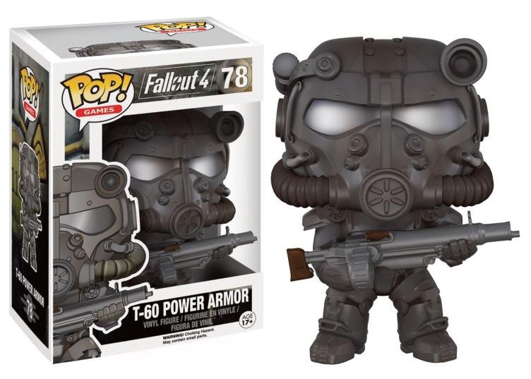 Fallout 4 POP! Games Vinyl Figure T-60 Power Armor 9 cm