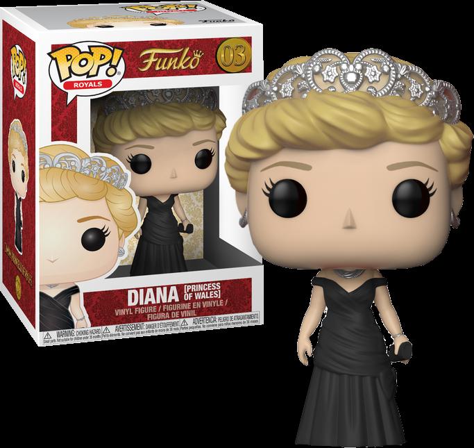 Royal Family POP! Movies Vinyl Figures 9 cm Princess Diana