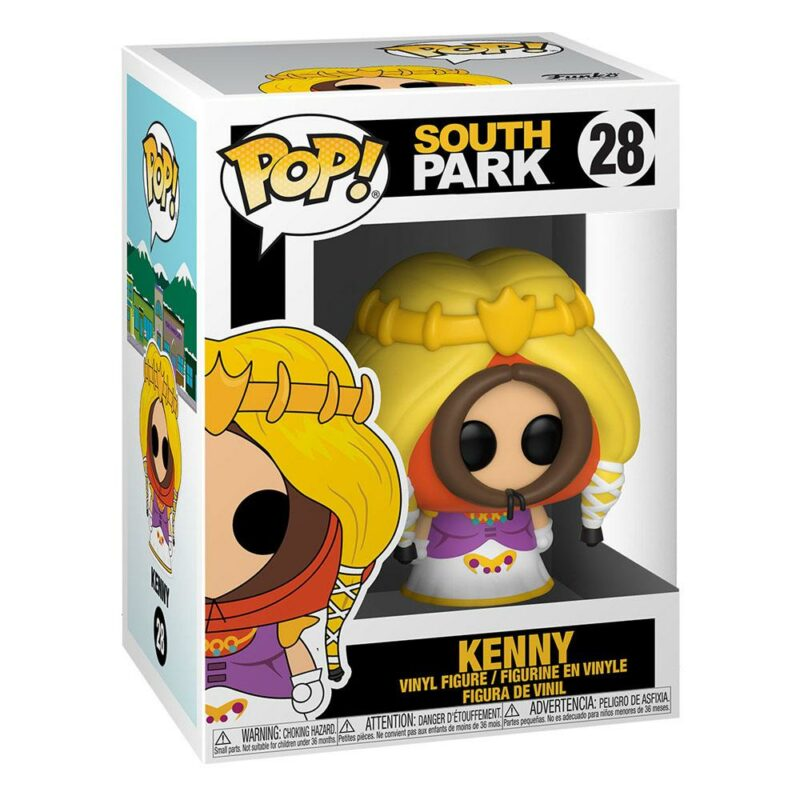South Park POP! Television Vinyl Figure Princess Kenny 9 cm