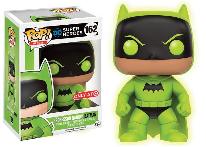 DC Comics POP! Heroes Figure Professor Radium Batman Glow in the Dark 9 cm (con bollino Target)
