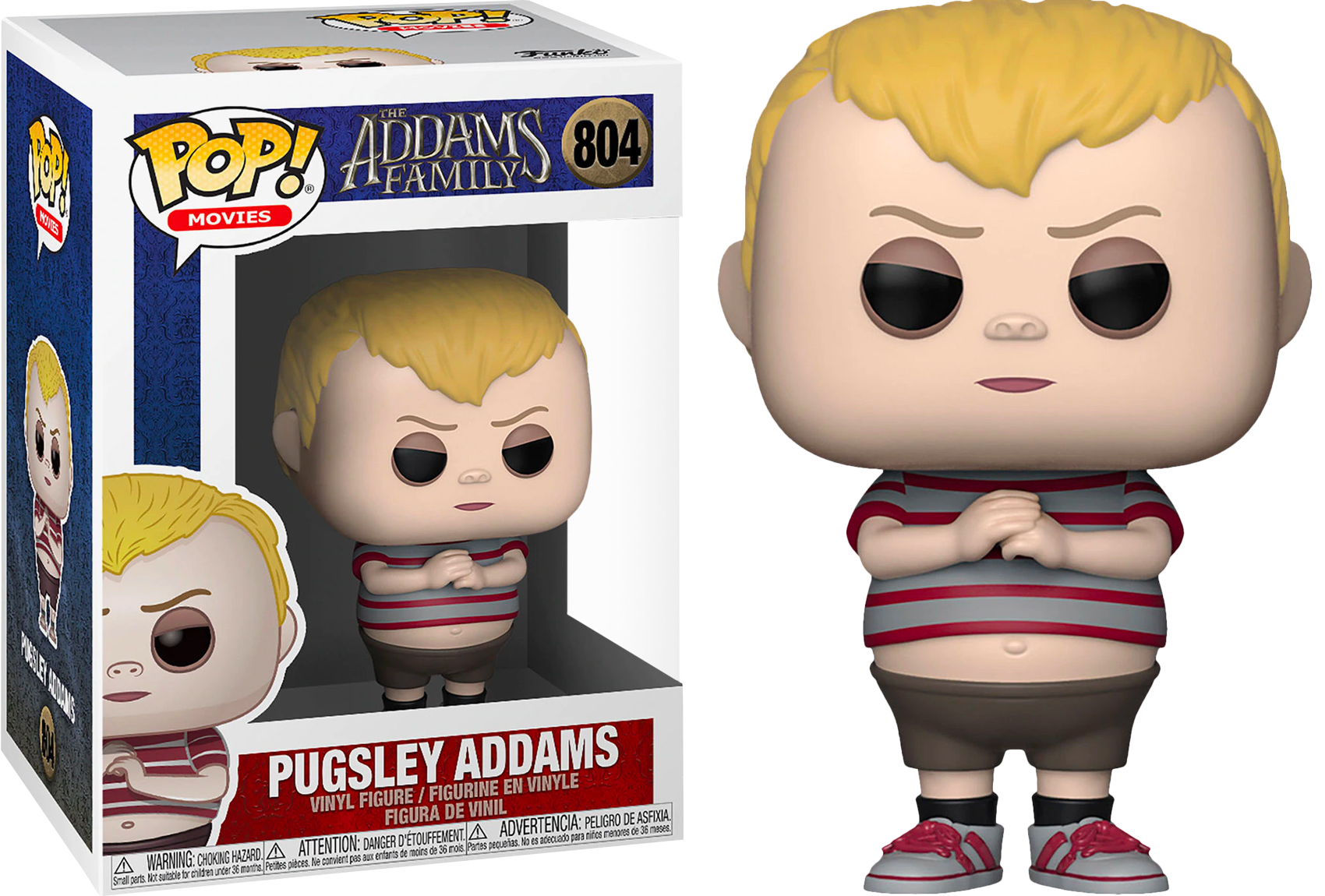 The Addams Family (2019) POP! Movies Vinyl Figure Pugsley Addams 9 cm