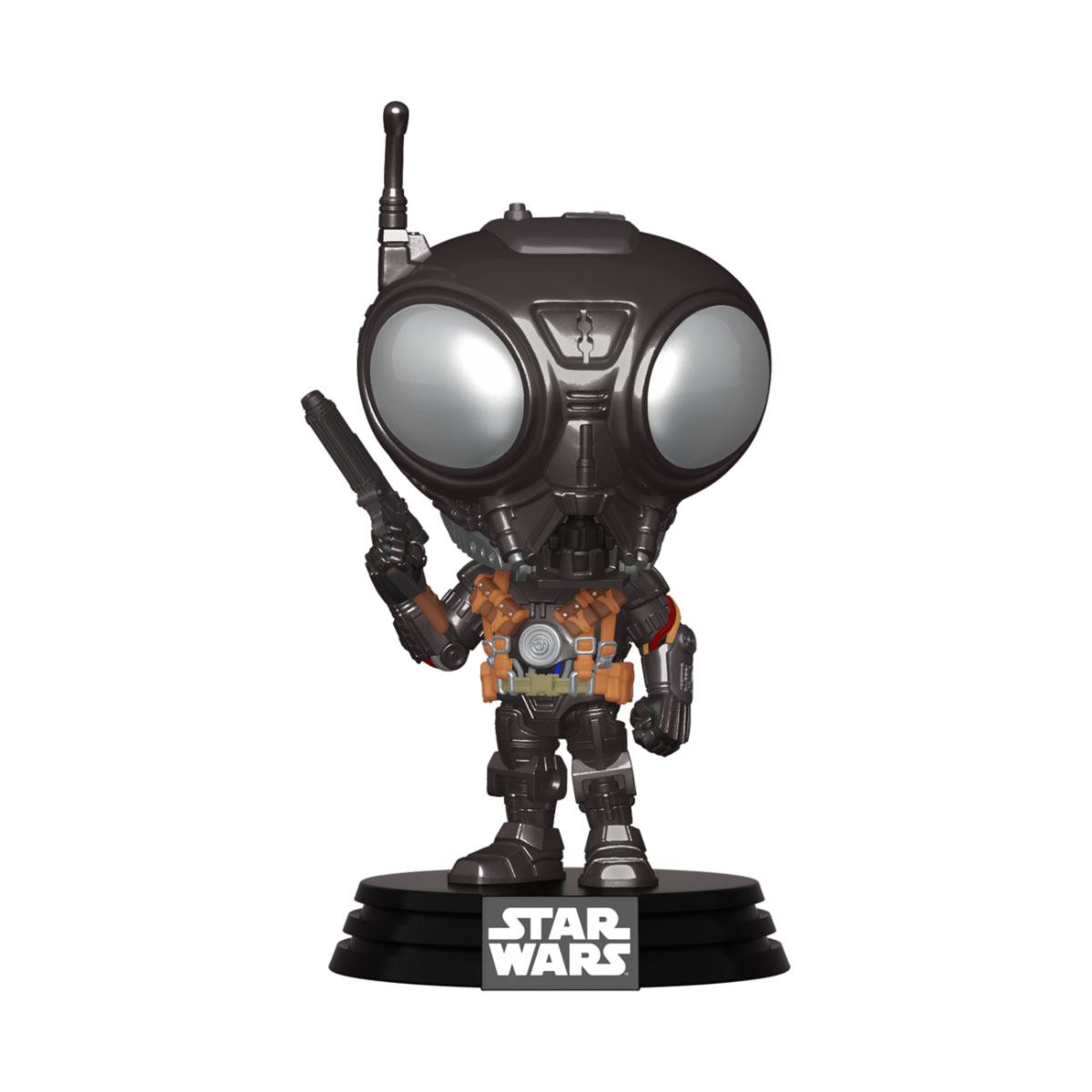 Star Wars The Mandalorian POP! TV Vinyl Figure Q9-Zero 9 cm