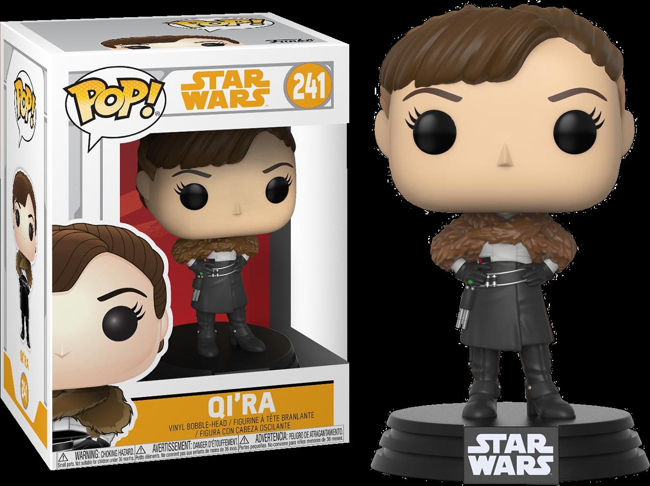 Star Wars Solo POP! Movies Vinyl Bobble-Head Qi'Ra 9 cm
