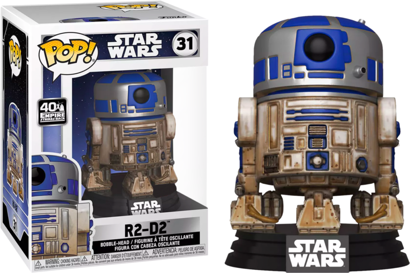 Star Wars Episode V: The Empire Strikes Back POP! Vinyl Bobble-Head Dagobah R2-D2 Limited 9 cm