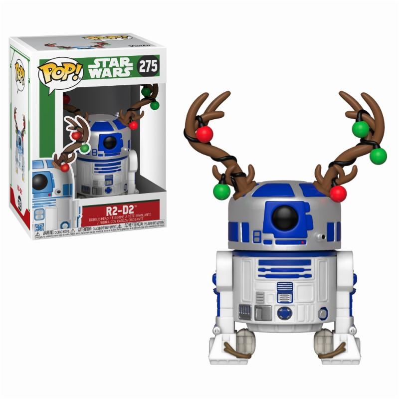 Star Wars POP! Vinyl Bobble-Head Holiday R2-D2 9 cm