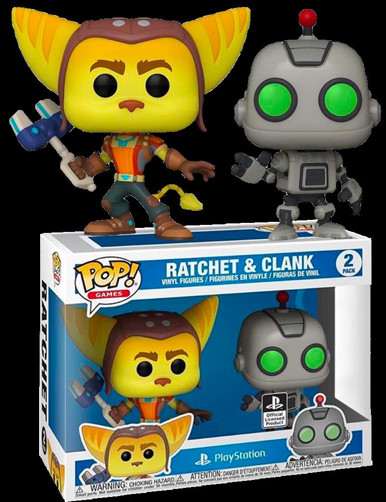 Ratchet & Clank POP! 2-pack Vinyl Figures Ratchet & Clank Limited