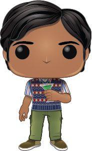 The Big Bang Theory POP! TV Vinyl Figure Raj 9 cm