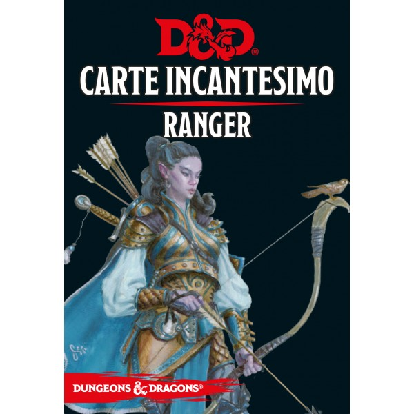 Dungeons & Dragons 5a Edizione - Carte Incantesimo - Ranger