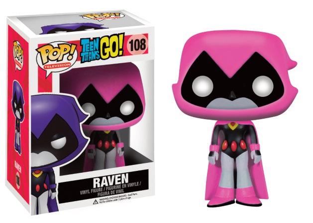 Teen Titans Go! POP! Television Vinyl Figure Raven (Pink) 9 cm