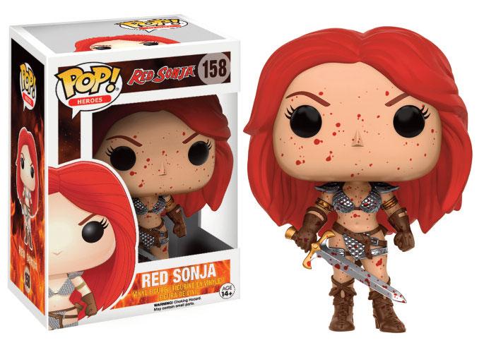Conan the Barbarian POP! Movies Vinyl Figure Red Sonja (Bloody) 9 cm