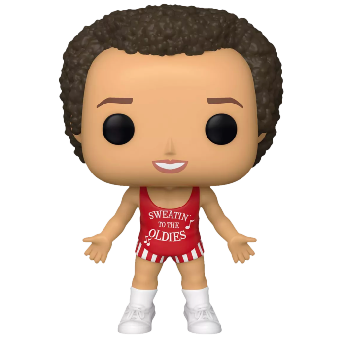Richard Simmons POP! Icons Vinyl Figure Richard Simmons in red outfit Limited 9 cm