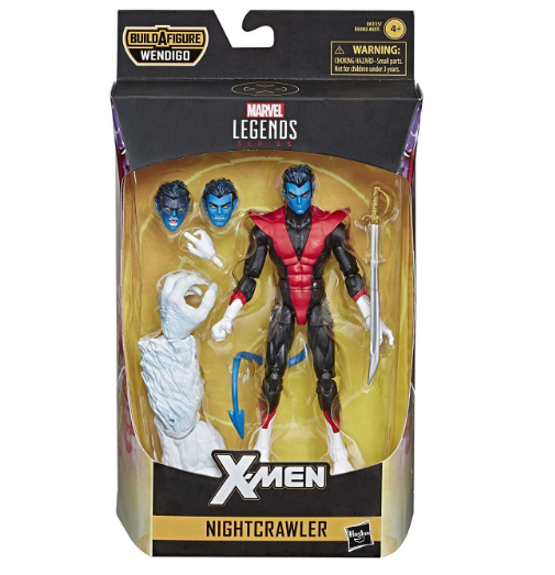 Marvel Legends Series Nightcrawler X-Force 2019 Wave 1 Action Figure 15 cm