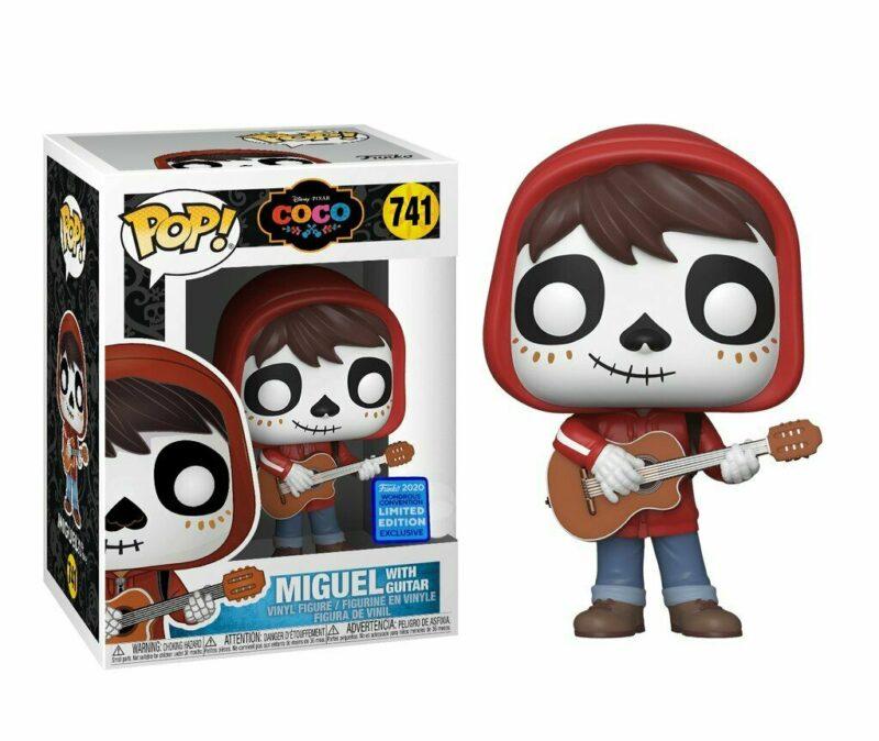 Coco POP! Movies Vinyl Figure Miguel with Guitar Limited Edition (con bollino Funko Wondrous Convention Exclusive)