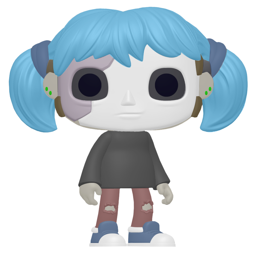 Sally Face POP! Games Vinyl Figure Sally Face 9 cm
