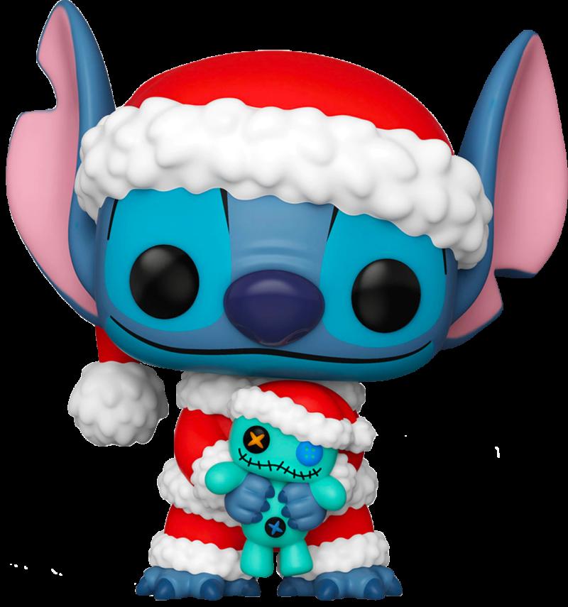 Lilo e Stitch POP! Vinyl Figure Santa Stitch Limited 9 cm