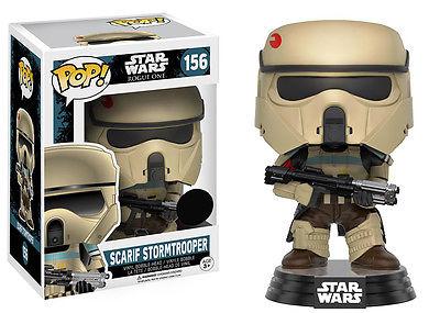 Star Wars Rogue One POP! Vinyl Bobble-Head Figure Scarif Stormtrooper (Blue Stripe) 9 cm