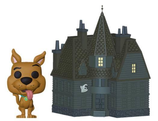 Scooby Doo POP! Town Vinyl Figure Haunted Mansion 9 cm