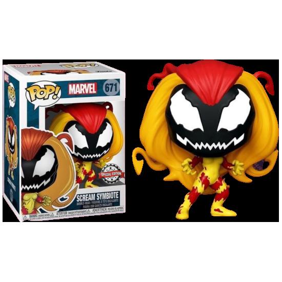 Spider-Man POP! Vinyl Figure Scream Symbiote Limited 9 cm