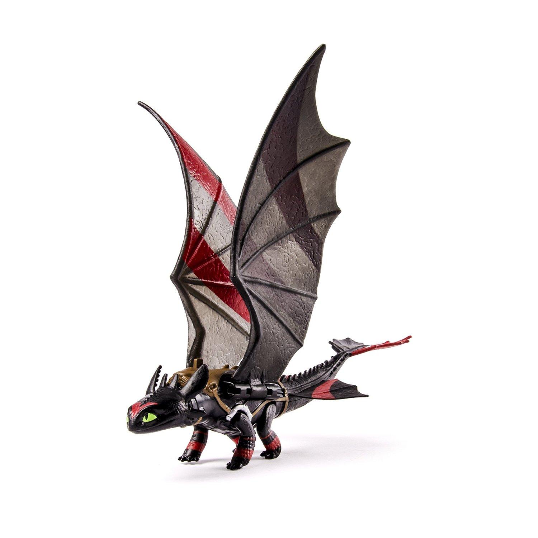 Dragon Trainer 2 Toothless (Sdentato) Action Figure (con ali colorate)