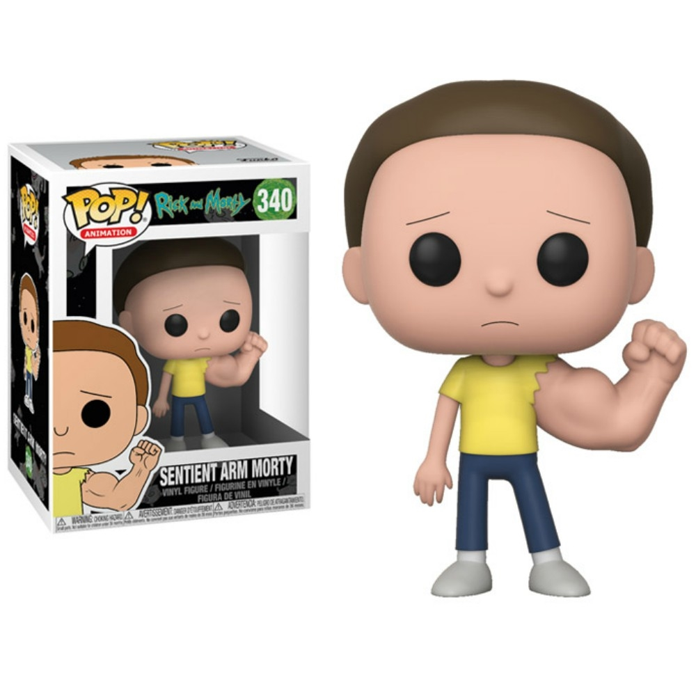 Rick and Morty POP! Animation Figures Sentinent Arm Morty 9 cm