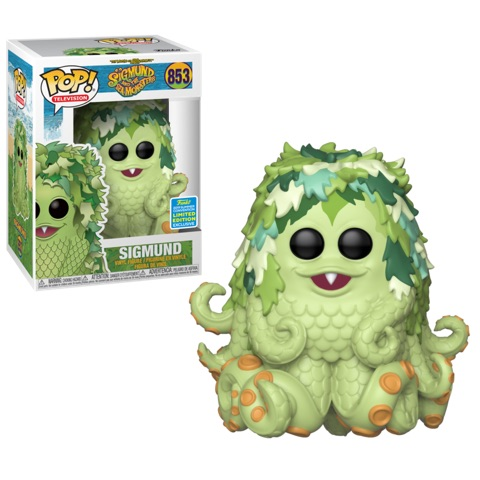 Sigmund and The Sea Monsters POP! Vinyl Figure Sigmund 9 cm (2019 Summer Convention Exclusive)