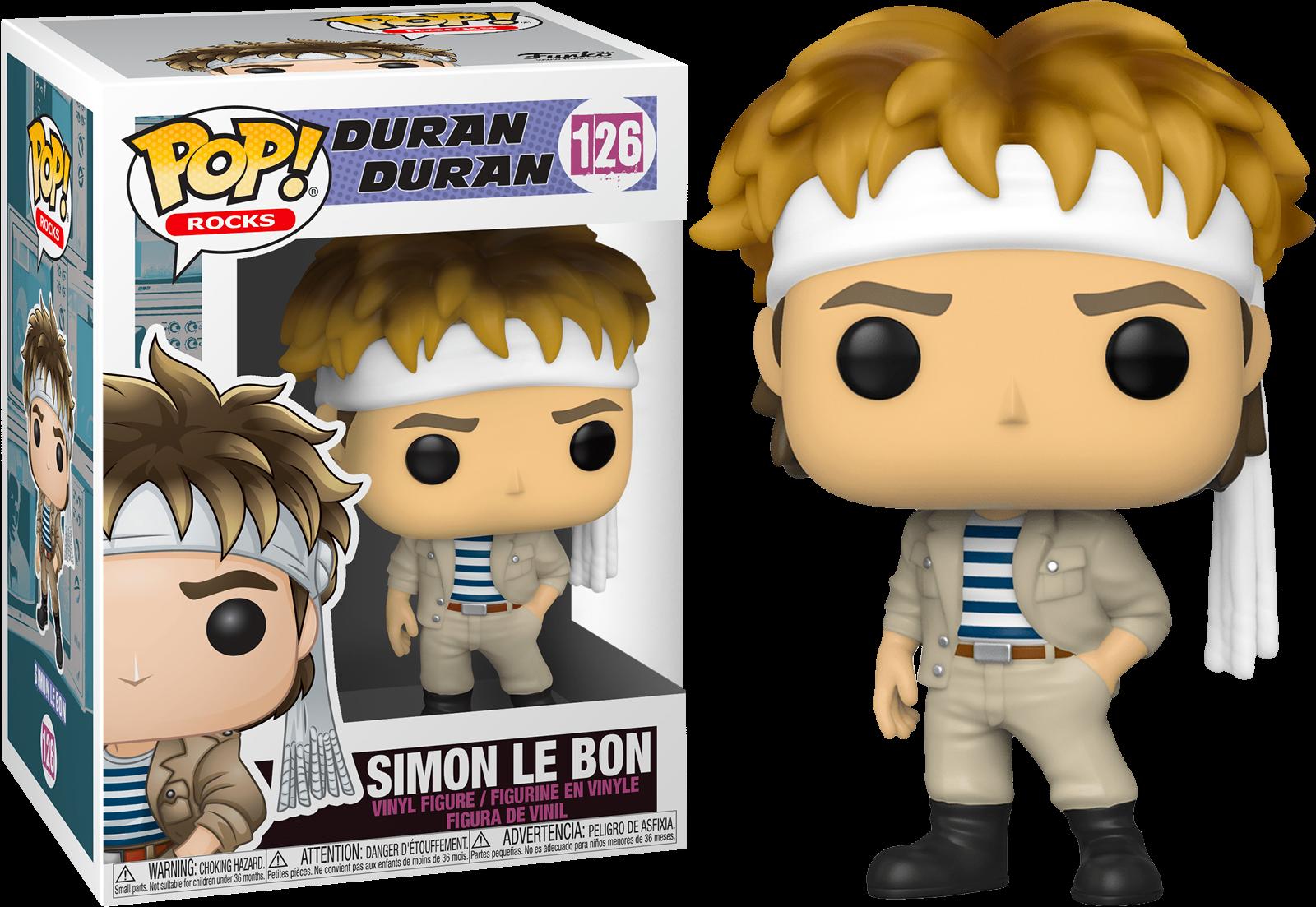 Duran Duran POP! Rocks Vinyl Figure Simon Le Bon 9 cm