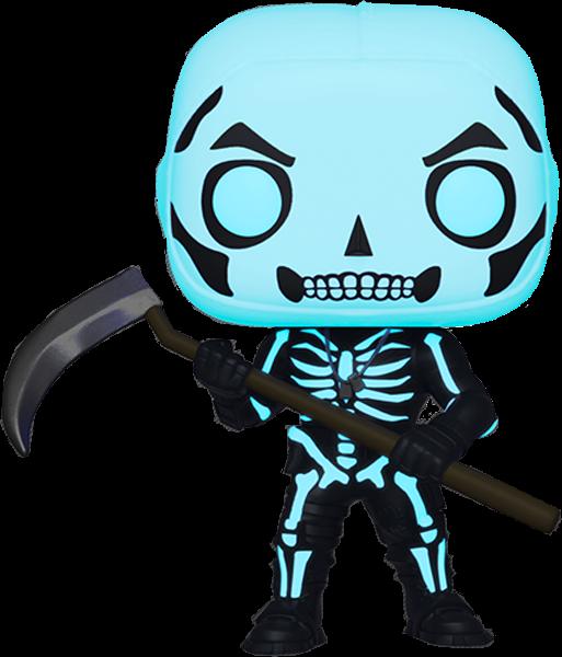Fortnite POP! Games Vinyl Figure Skull Trooper Glow in the Dark Limited 9 cm