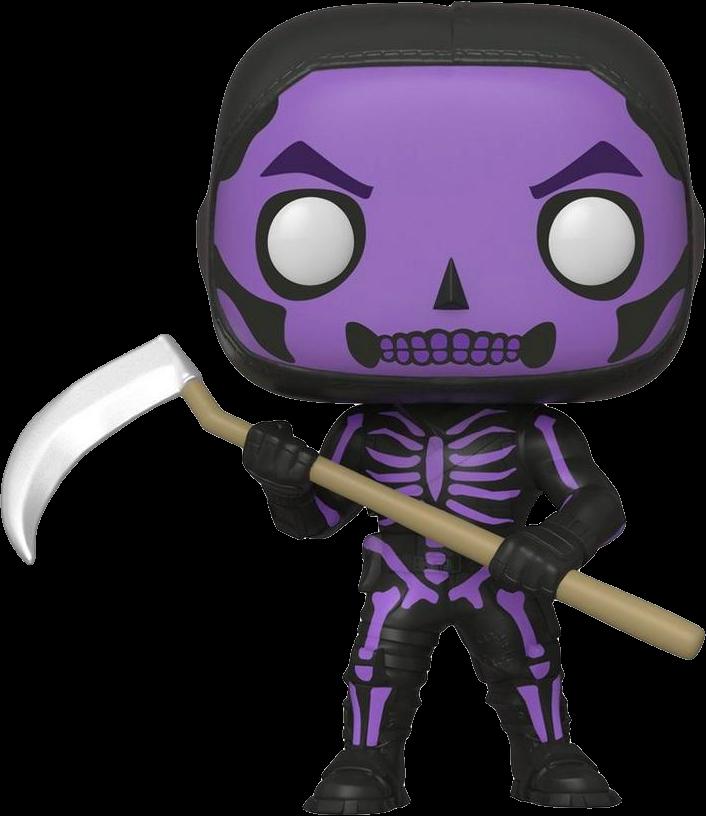 Fortnite POP! Games Vinyl Figure Skull Trooper Purple Limited 9 cm